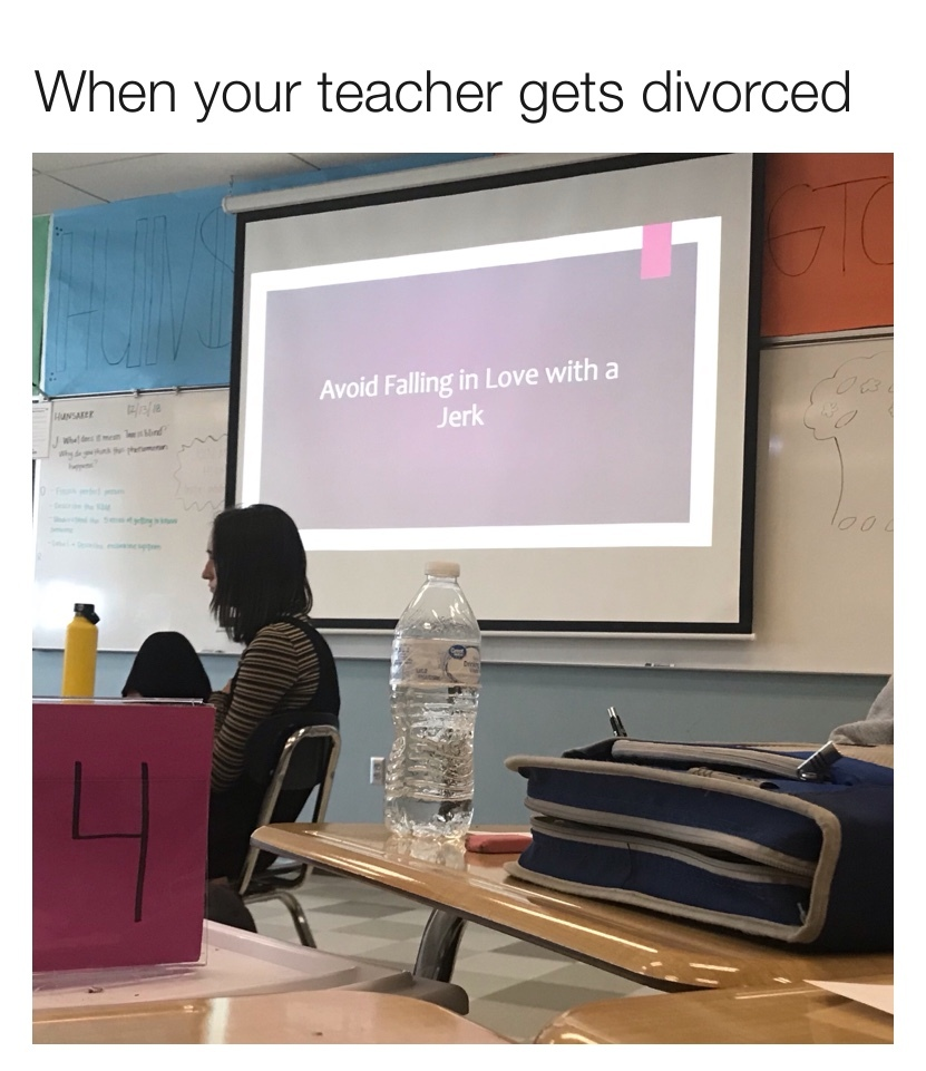 Literally our lesson today - meme
