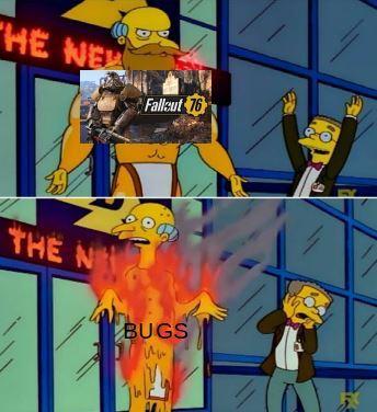 fallaut 76 es mierda - meme