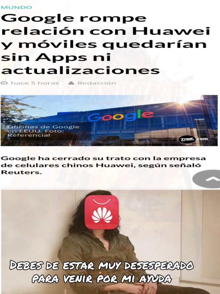 Mierda, yo tengo Huawei - meme