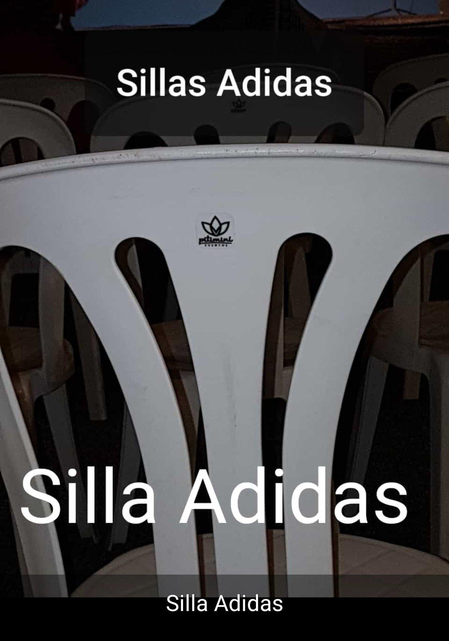 Silla Adidas - meme