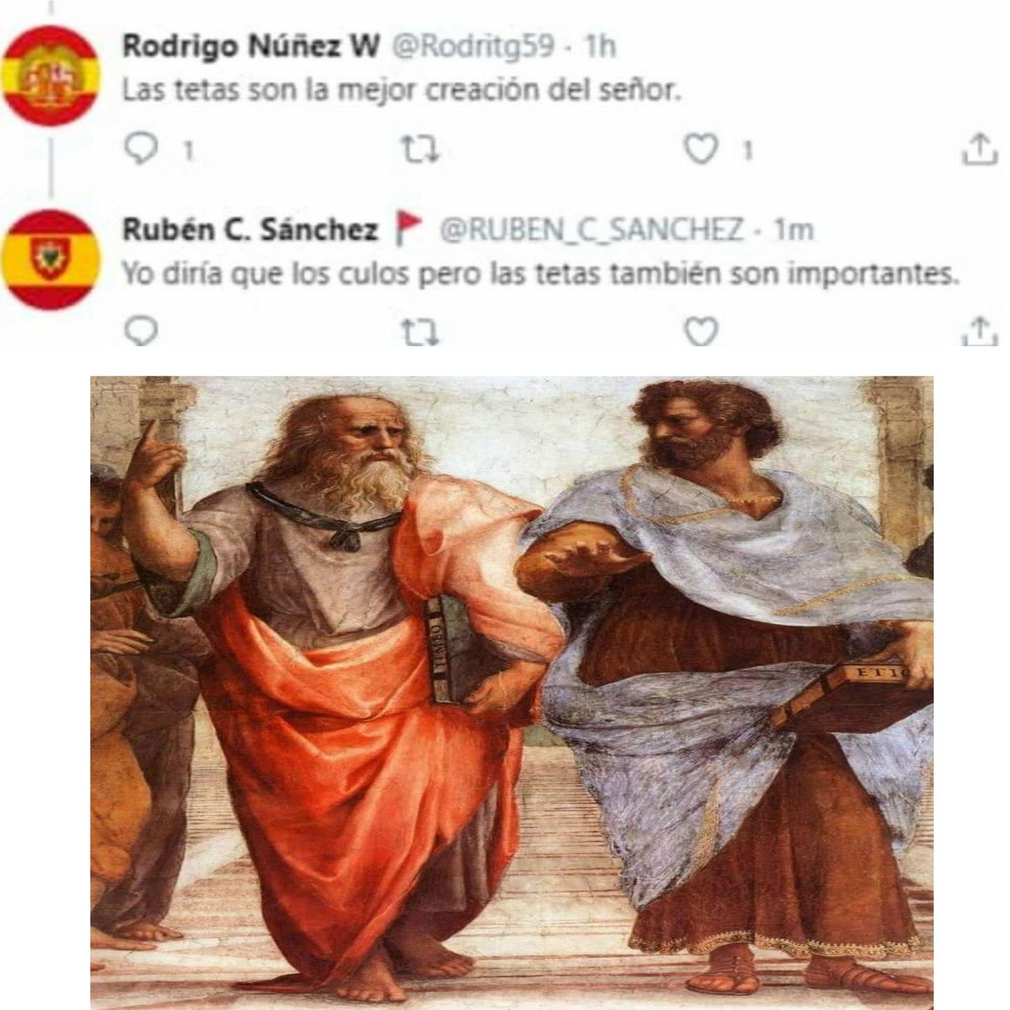 Abro debate: ano o pezón - meme
