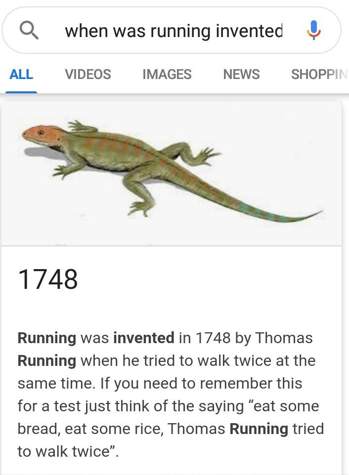 Running - meme