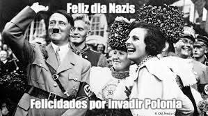 Feliz dia Nazis - meme