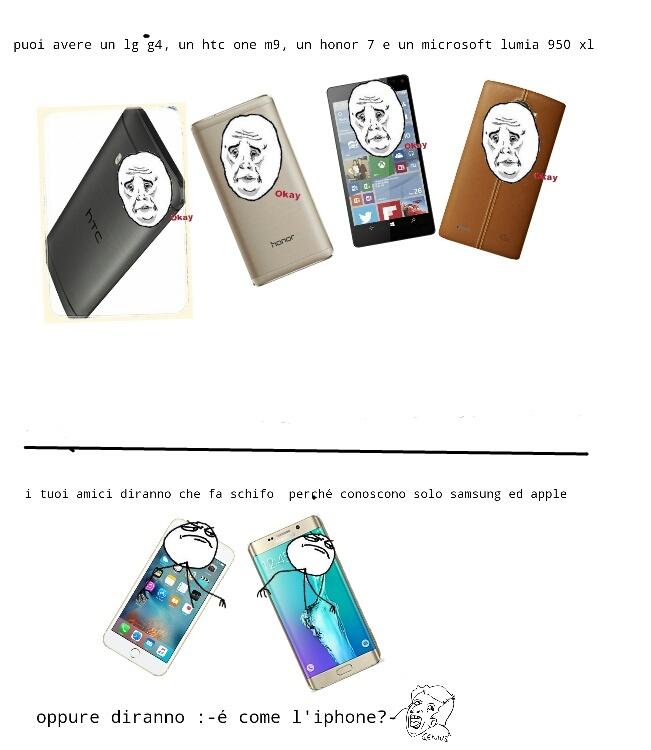 Tristissimo per le case editrici di questi telefoni - meme