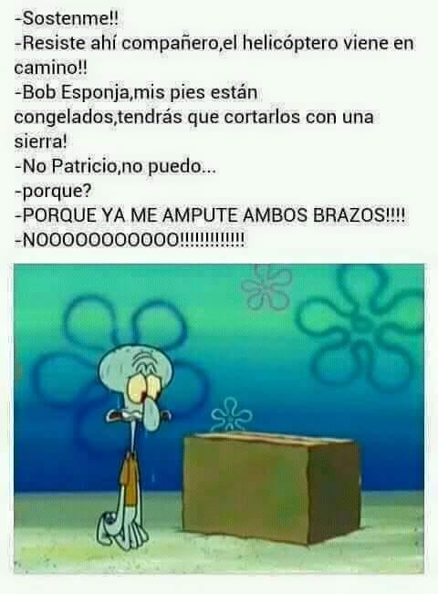 Espera Patricia - meme