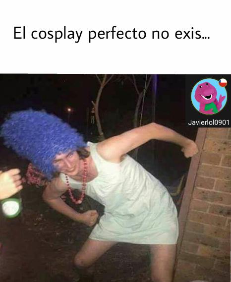 El meo cosplay... - meme
