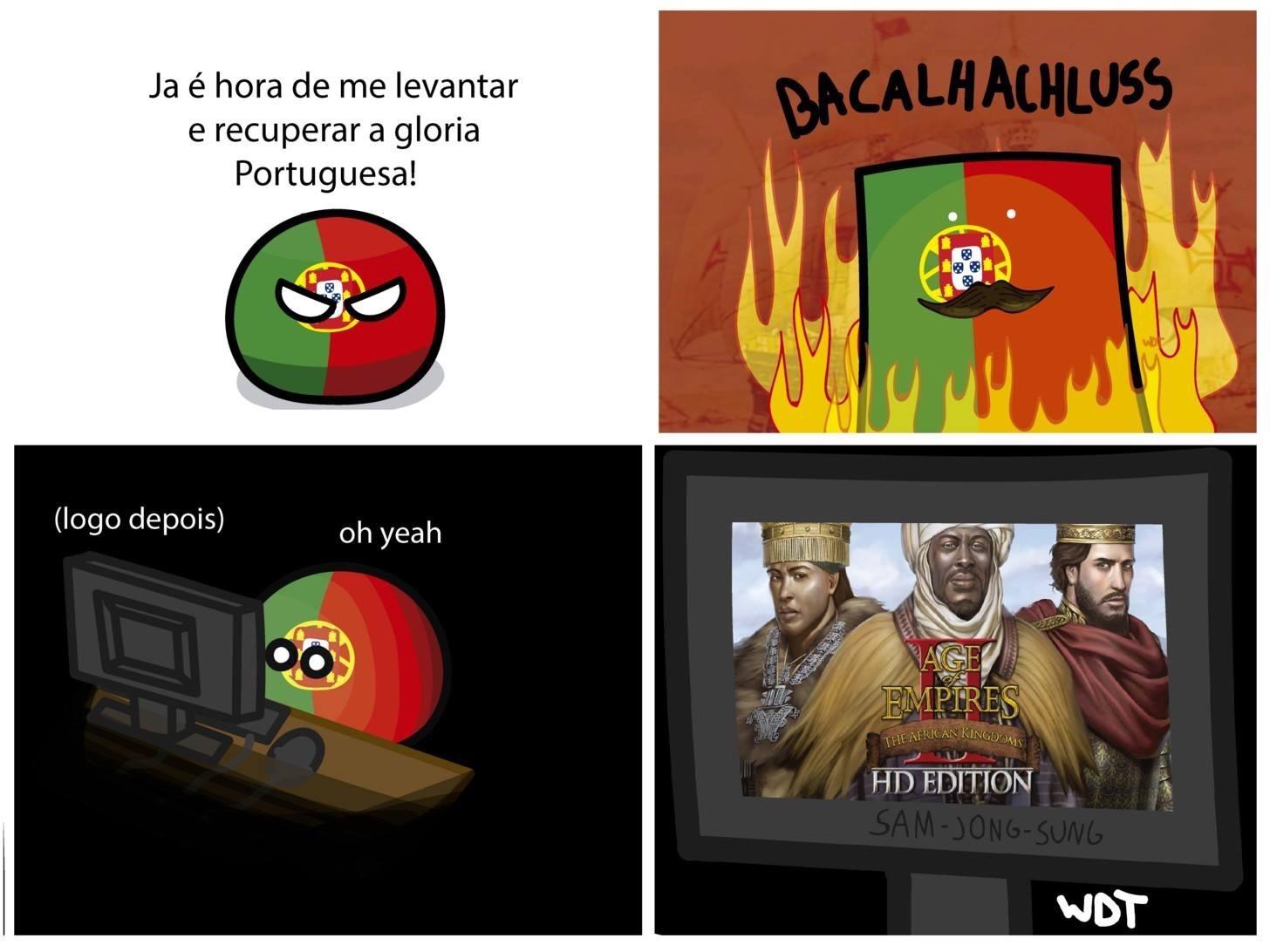 Jogo de Facebook - meme