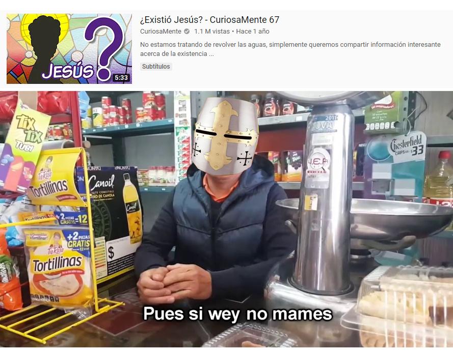 Me apareció en youtube - meme