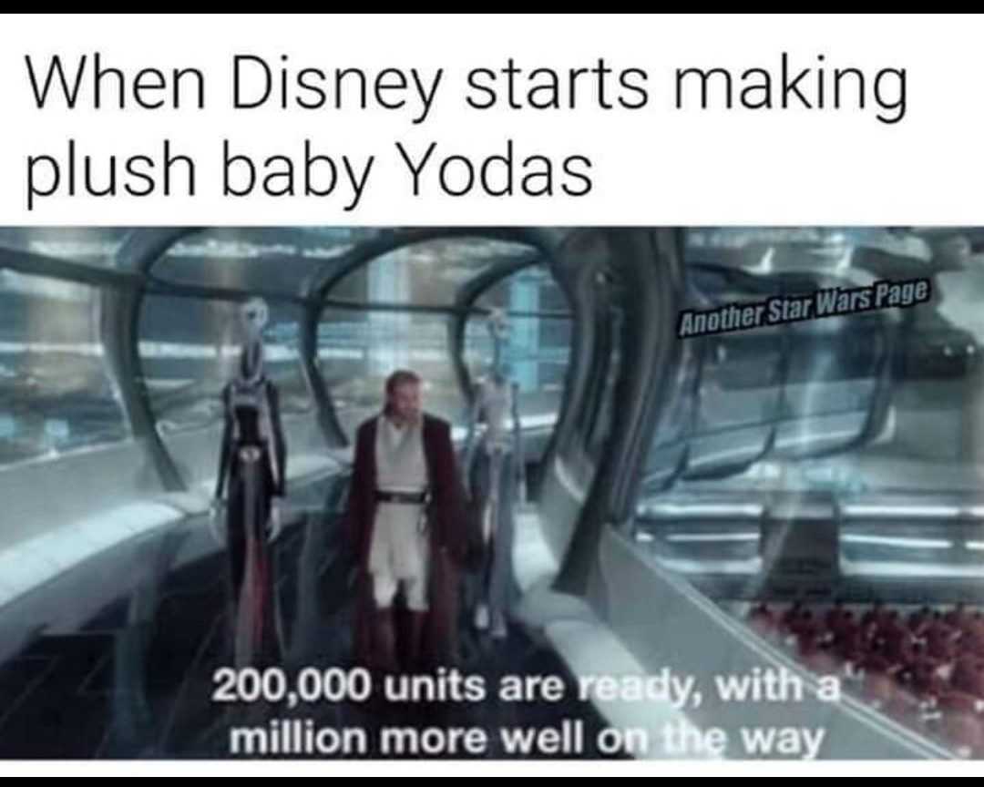 The Clone wars are starting - meme