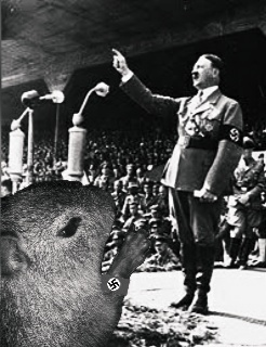 Lepitospirose Nazista Fodase - meme