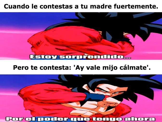 El poder es mío - meme