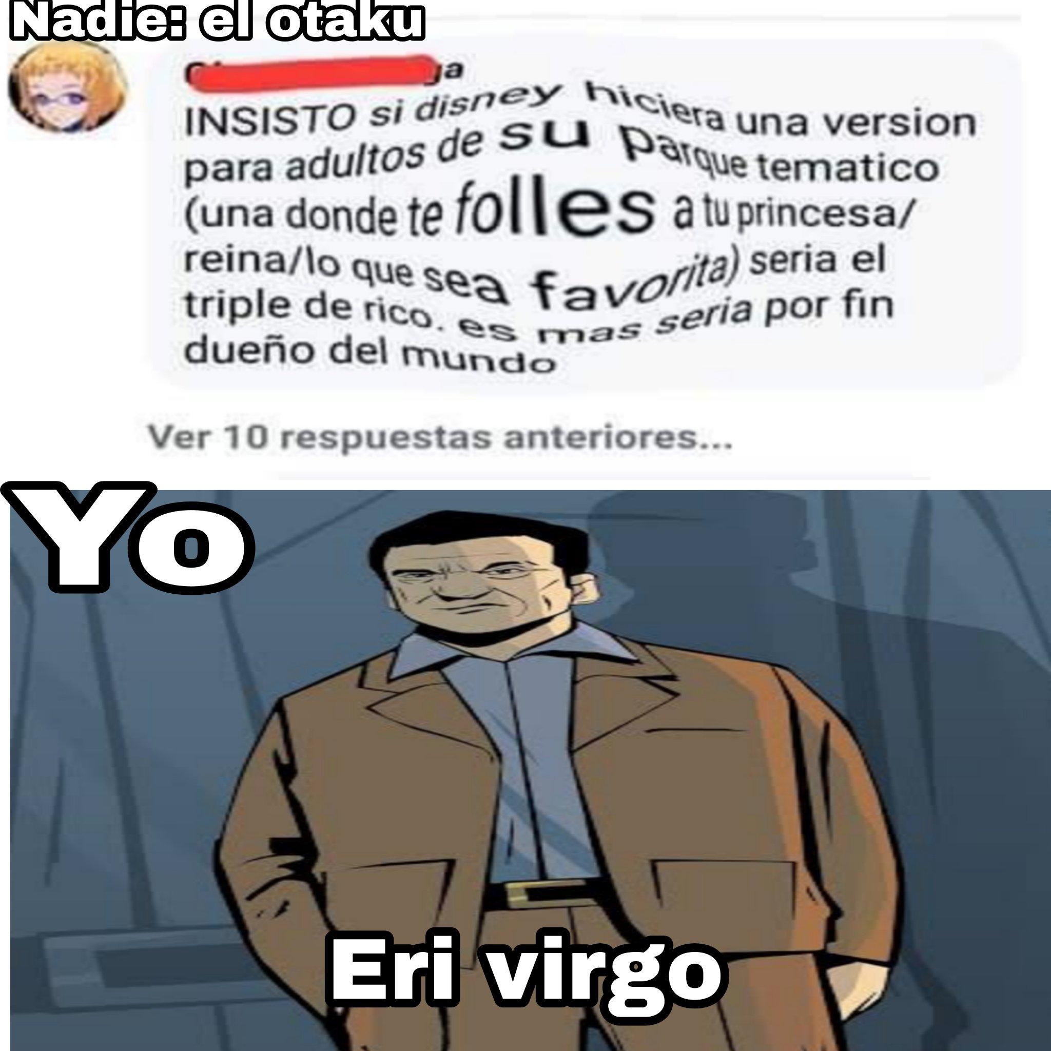 Facebook nido de otakus - meme