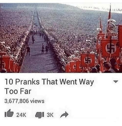 dongs in a prank - meme