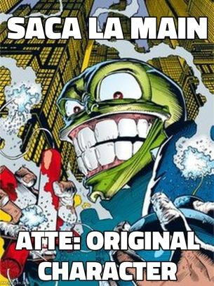 joder original character tiene un comic - meme