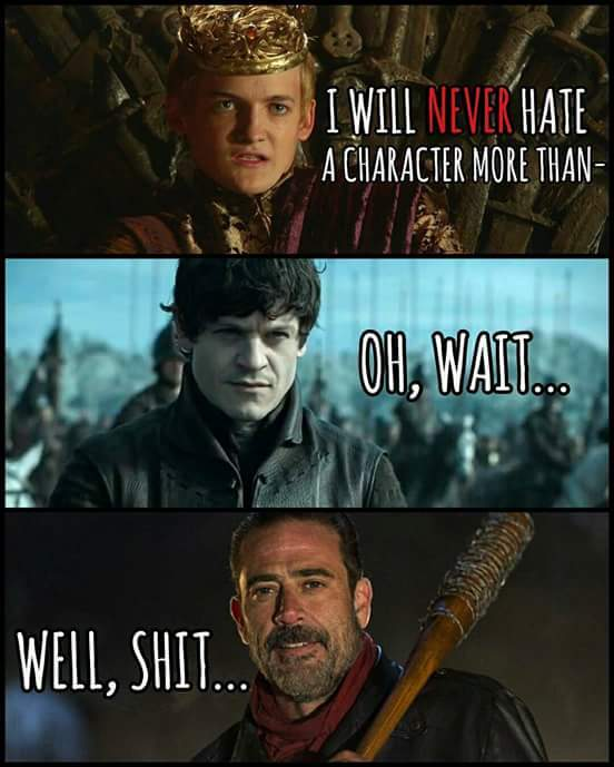 Third comment gets to meet Lucille - meme