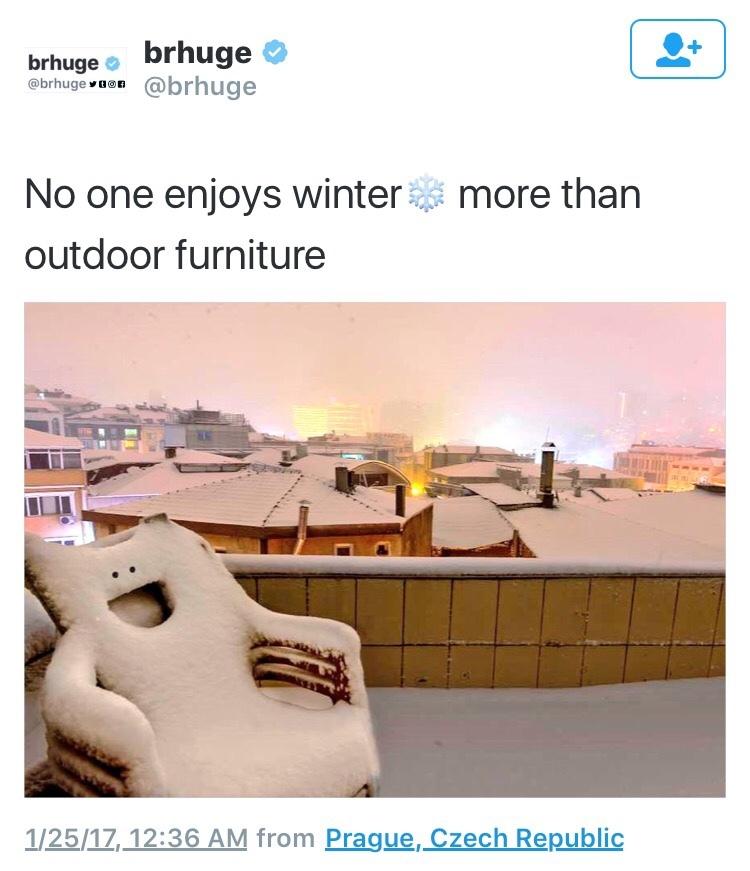 snow smiles - meme