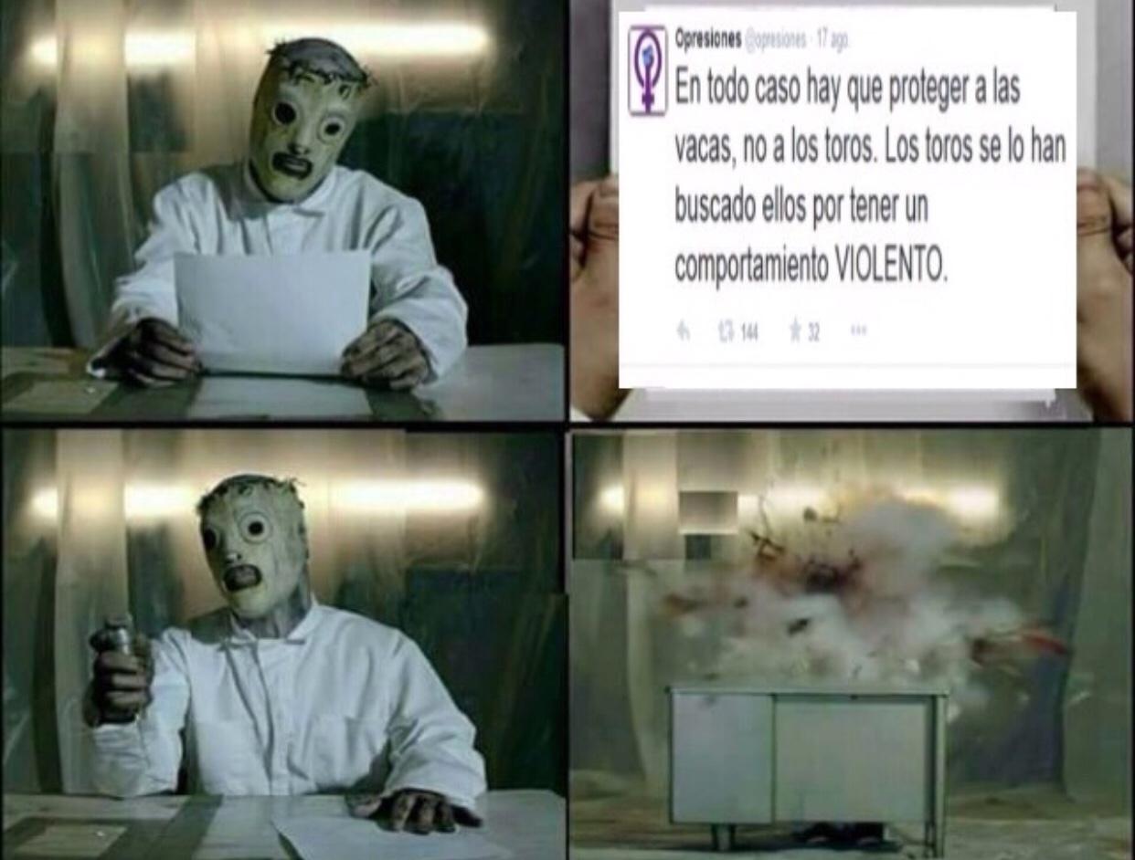 asco de humano - meme