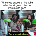 Beyond ice cubes