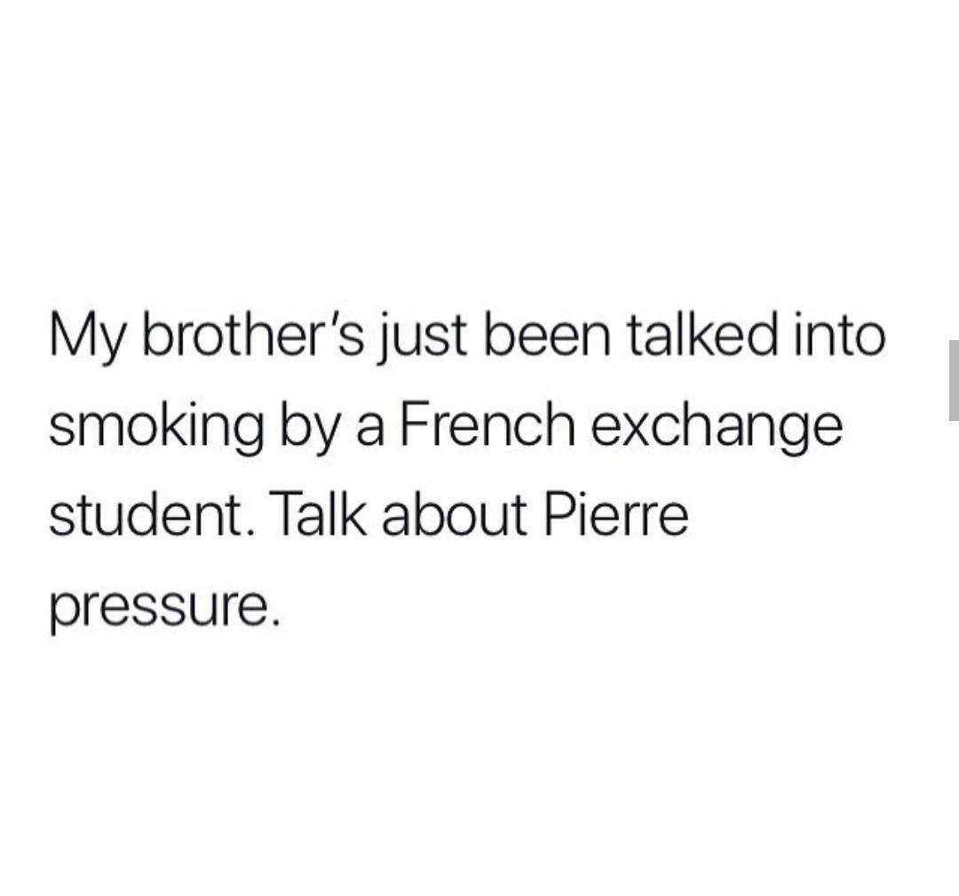 Pierre pressure - meme