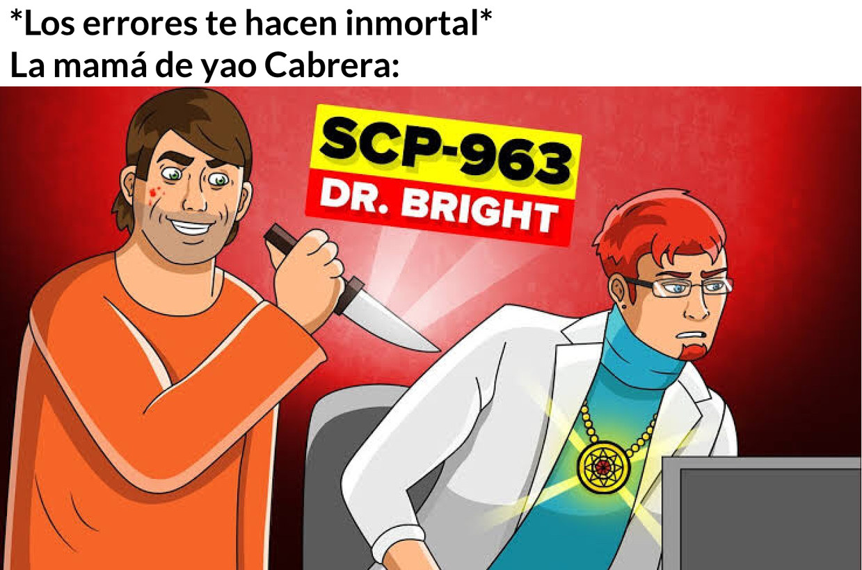 Meme basado en otro meme de Thel_vabam123