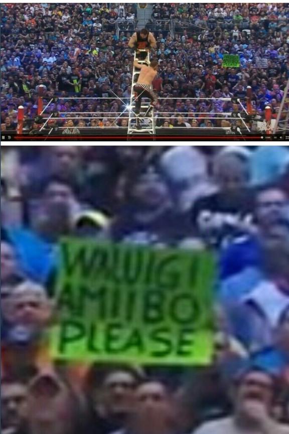 Meanwhile at WWE - meme