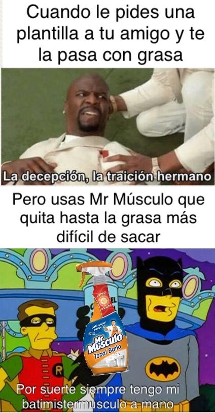 Mr Músculo - meme