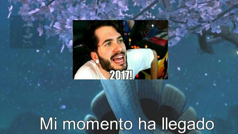 Feliz año nueva - meme