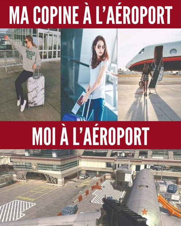 Aéroport - meme