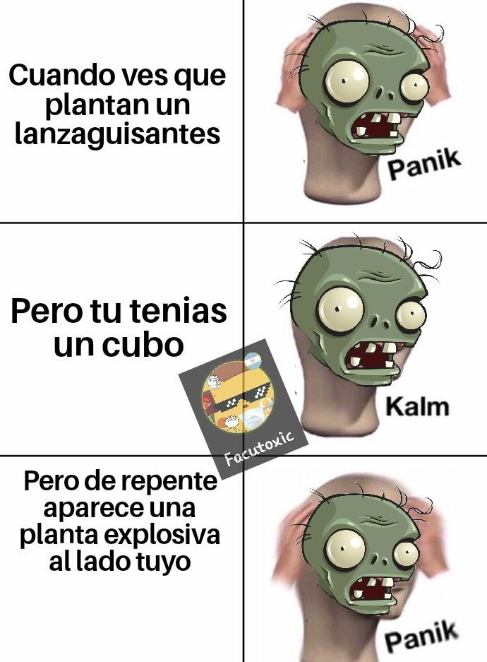 F por el zombi - meme