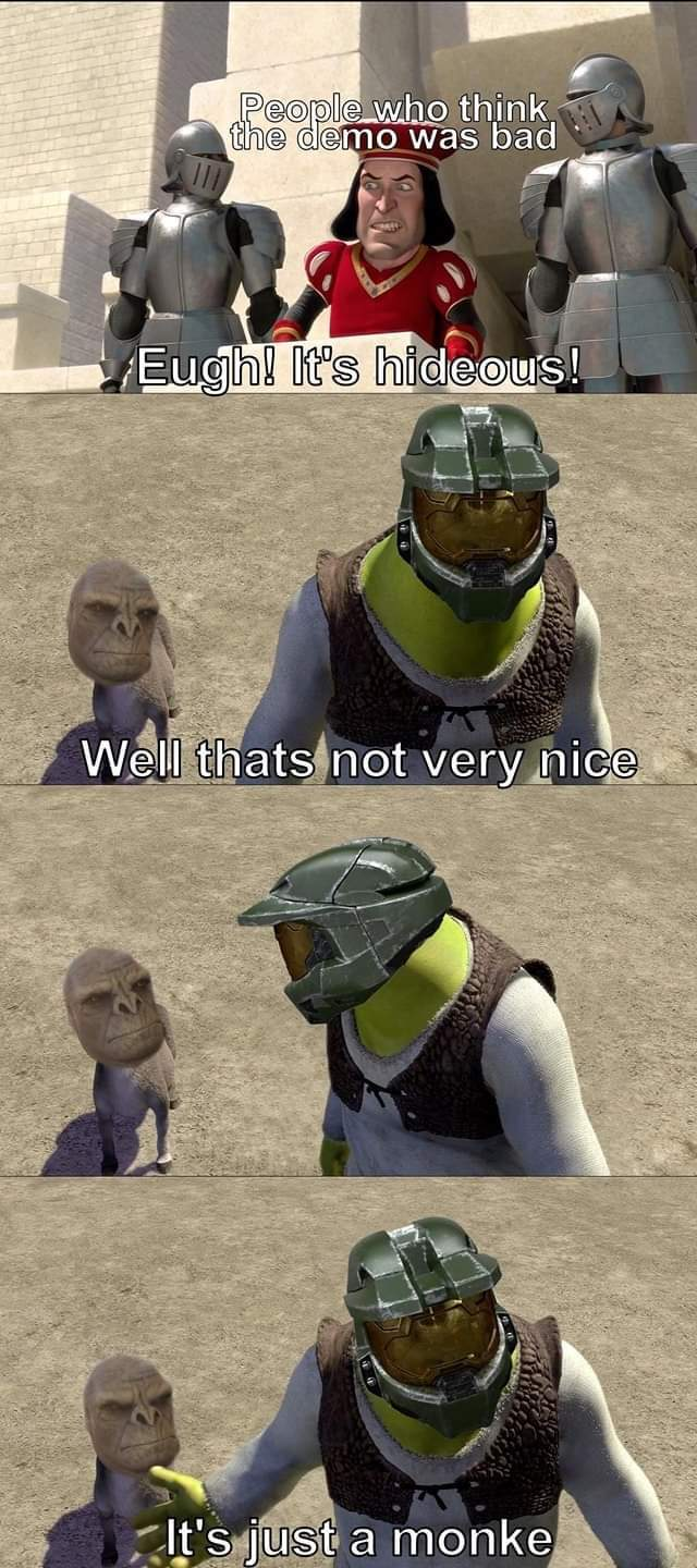 I am a Sony person anyways. Halo as a series used to be good though. - meme