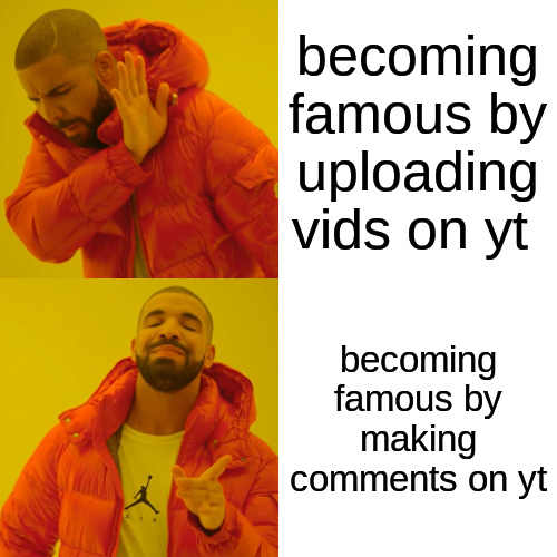 guide to becoming famous - meme
