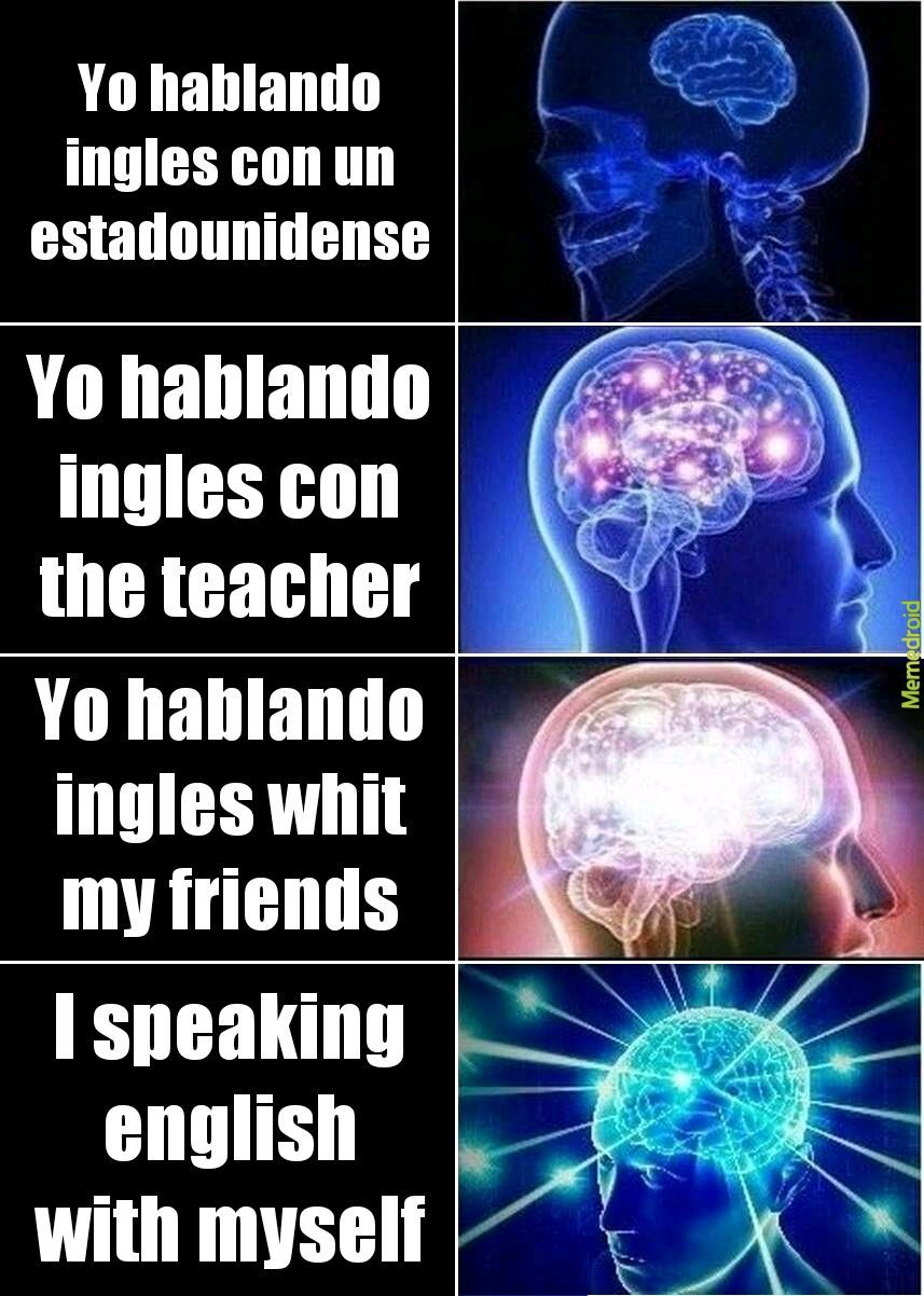 In English please - meme