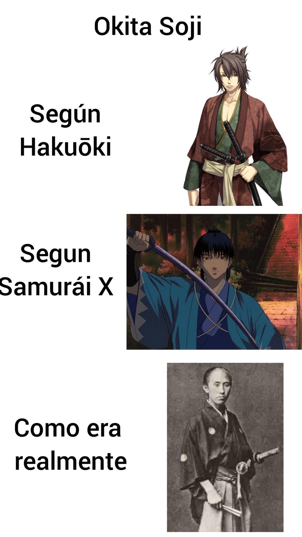 Antiguo miembro del Shinsengumi - meme