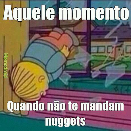 Manda nuggets - meme