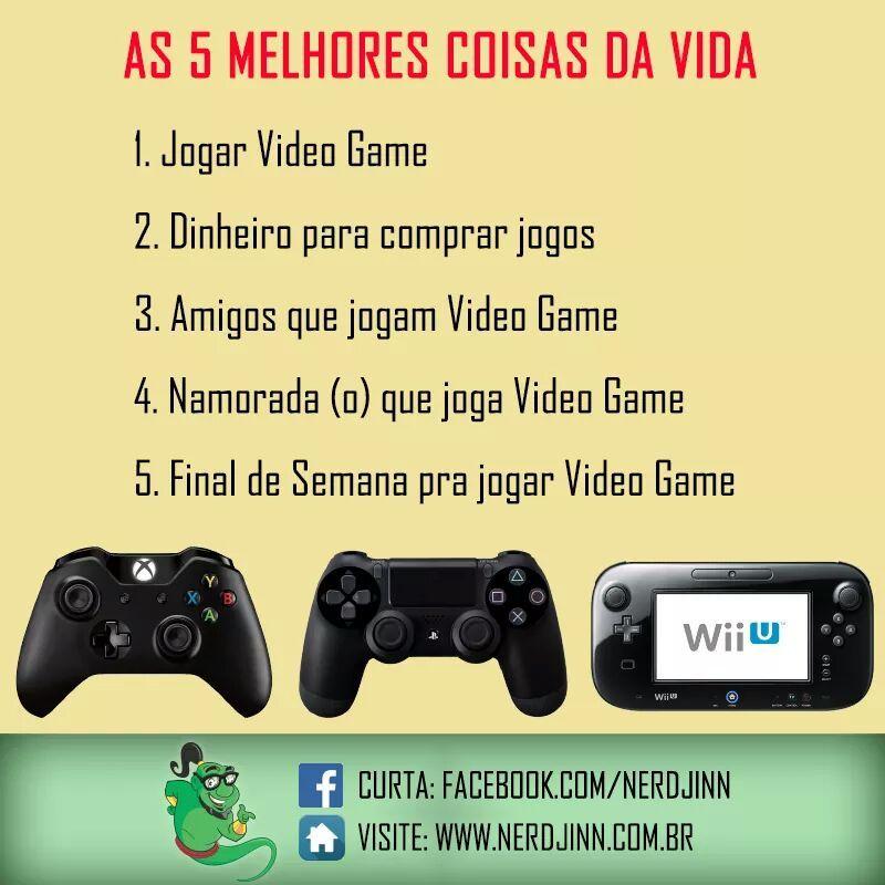 Videogames sempre - meme