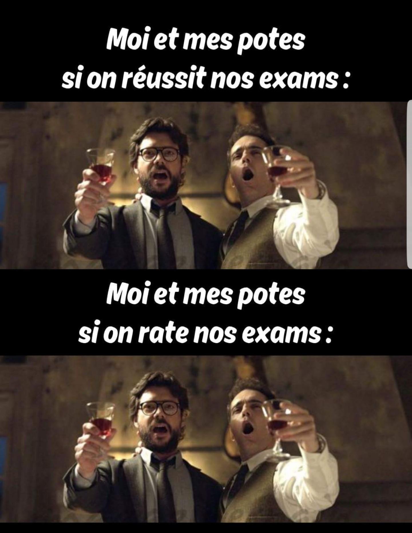Nos exam - meme