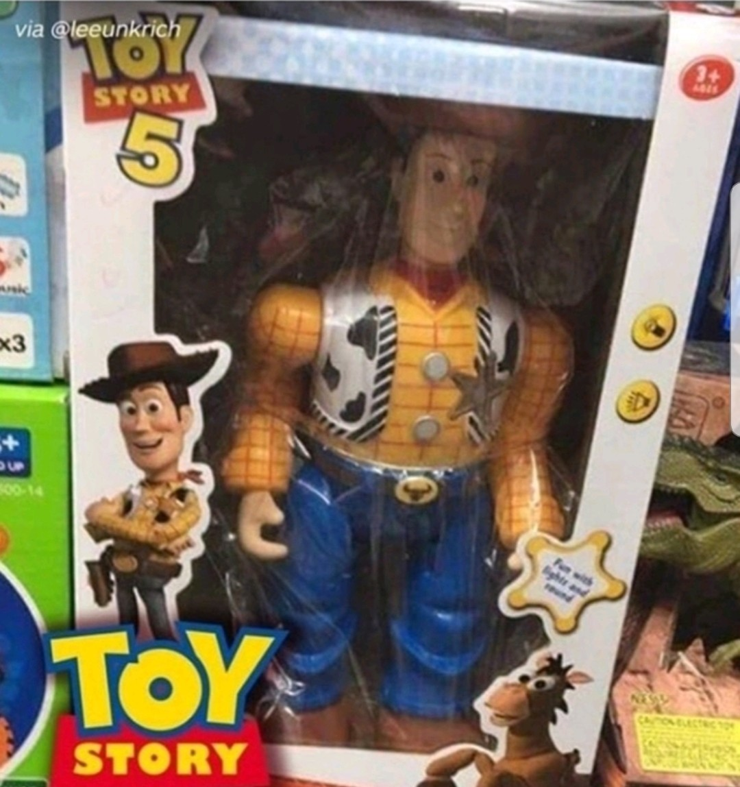 Fijense que pone toy story 5 wadafak - meme