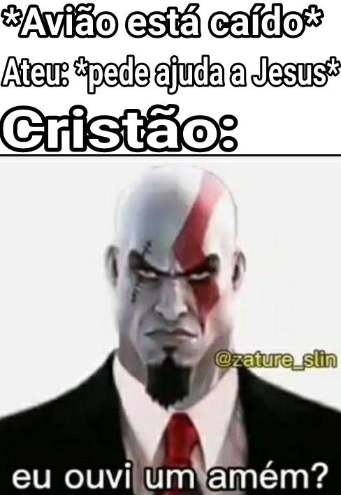 Cristão Temporário - meme