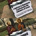Change of heart, courtesy of mr Christ
