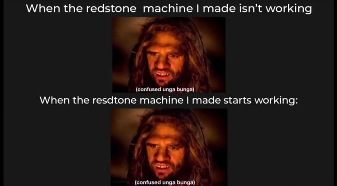 Redstone - meme