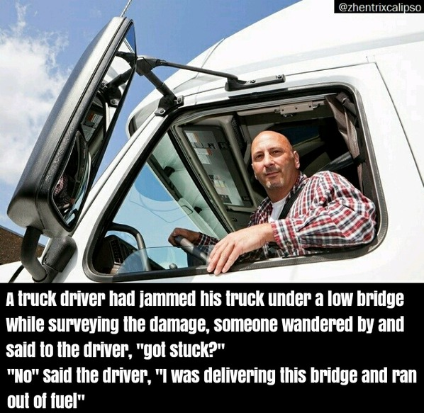 Trucker jokes - meme