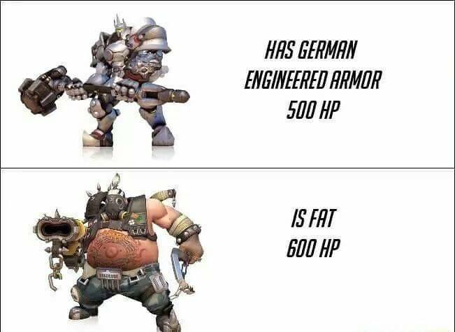 Only roadhog - meme
