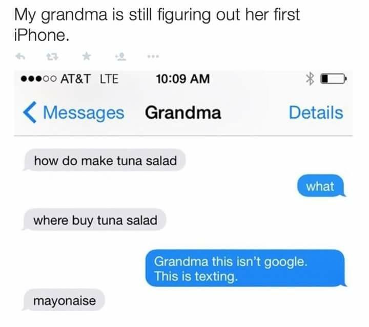 Ok grandma - meme