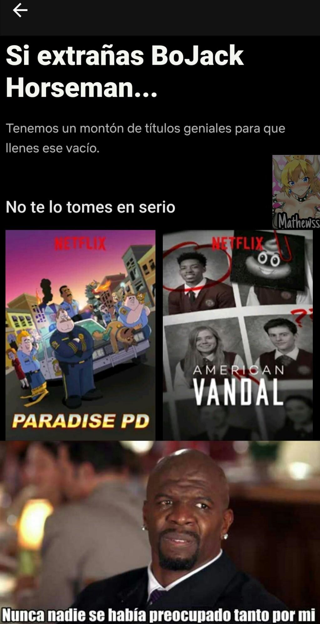 El Netflix - meme