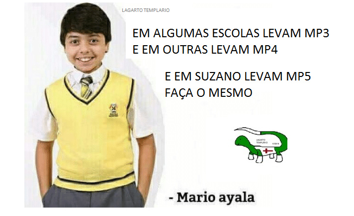 Dicas Mario Ayala - meme