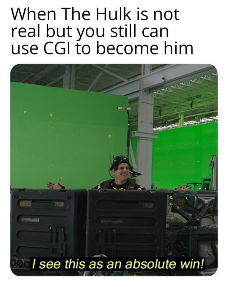 IRL Hulk - meme