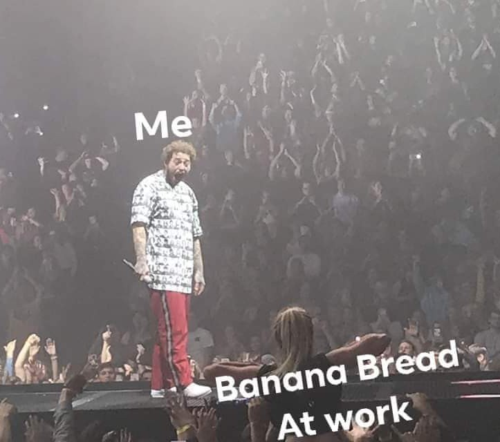 Gotta love free food - meme