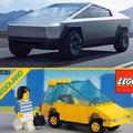 Tesla lego truck