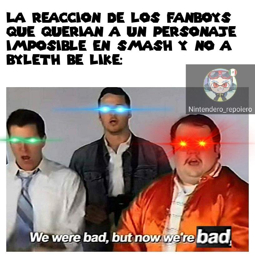 Hay muchos fans radicales en Smash :[ - meme