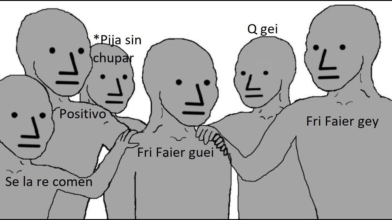 No juego Frifai, PRIMER AVISO - meme